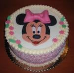 Myška minnie torta