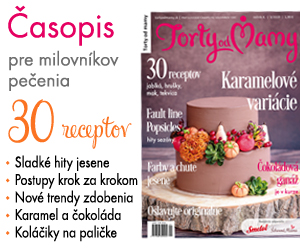 Jesenné číslo časopisu Torty od mamy 2019