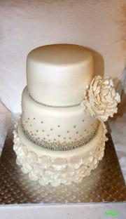 Svadobná s perličkami