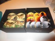 Maľované linecké koláče