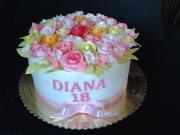 Torta Narodeninová kytica