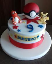 Torta K narodeninám pre vnúčika - Pokémoni