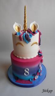 Torta Jednorožec pro Verunku