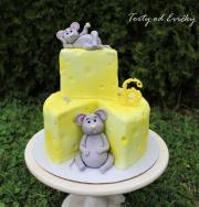 Torta Myšky a syr