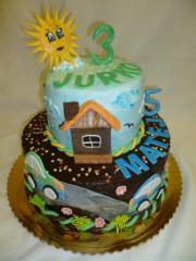 Torta Narodeninová 3 a 5 rokov
