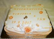 Torta Svadobná 162