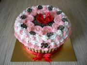 Torta Jednoduchá šľahačková s mascarpone krémom