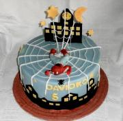 Torta spidermanová