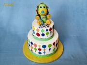 Torta psíček (podľa obľúbenej hračky)