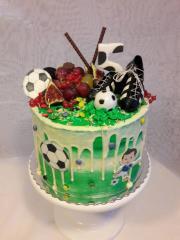 Torta Krémová torta pre fotbalistu