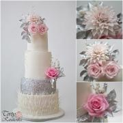 Torta Zimná svadobná torta