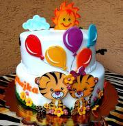 Torta Priatelia tigríkovia