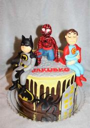 Torta Superhrdinovia