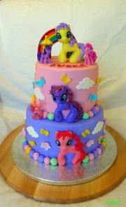 Torta S poníkmi