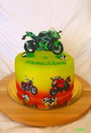 Torta S motorkou