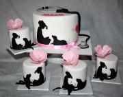 Torta Setík so siluetkami