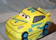 Torta Autíčko z Cars