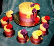 Torta Krémový setítk s minitortami