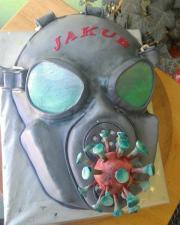 Torta Plynová maska