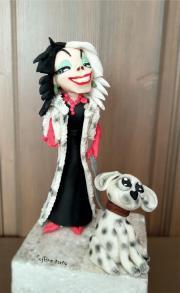 Torta Cruella de Vil - ale moja je sladká a milá:::)))