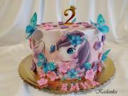 Torta Jednorožec