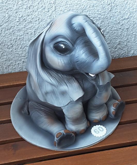 Slon - foto postup