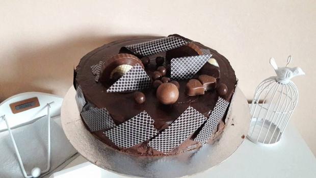 Maková torta bez múky - recept postup 1