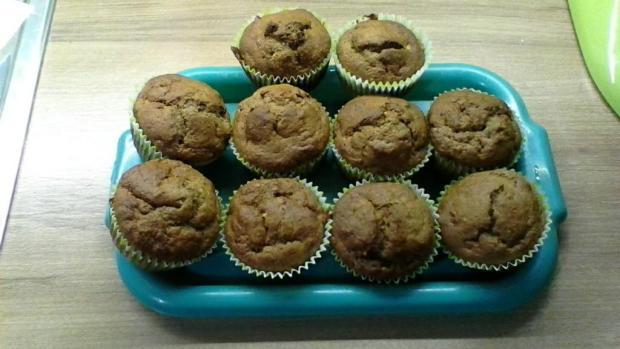 Banánové muffinky - recept