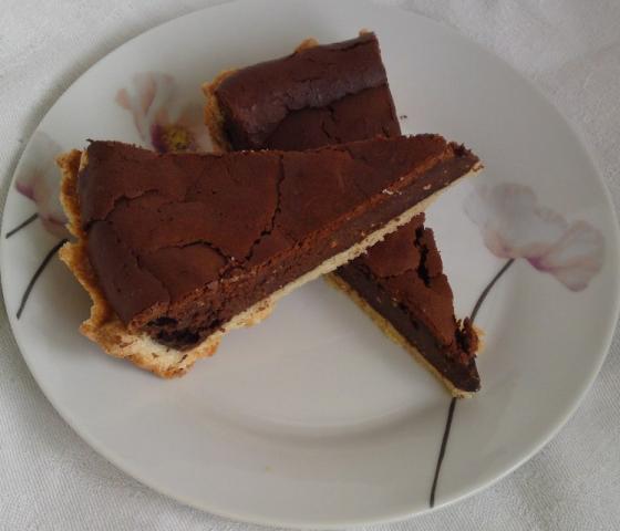 ♣ Čokoládový cheesecake ♣. - recept postup 1