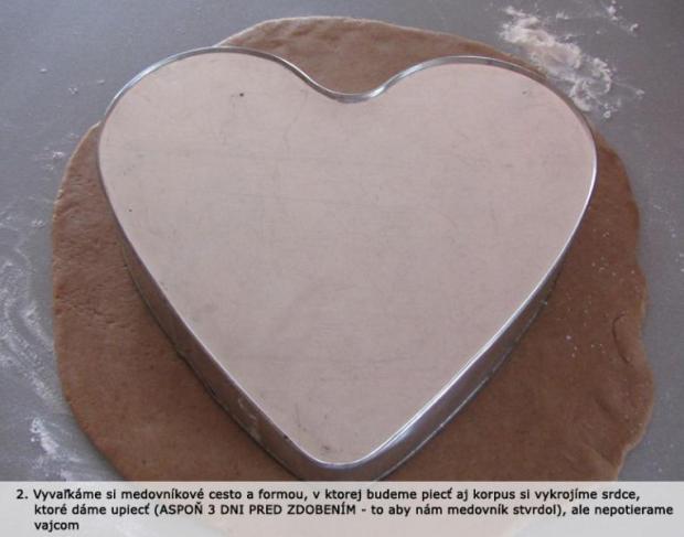 Fotopostup - Torta otvorené srdce 2