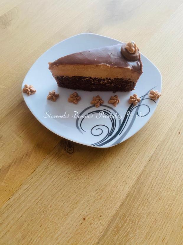 Čokoladový zákusok - recept postup 1