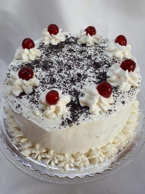 Maková torta s pohánkou a jablkovým pudingom - recept postup 1