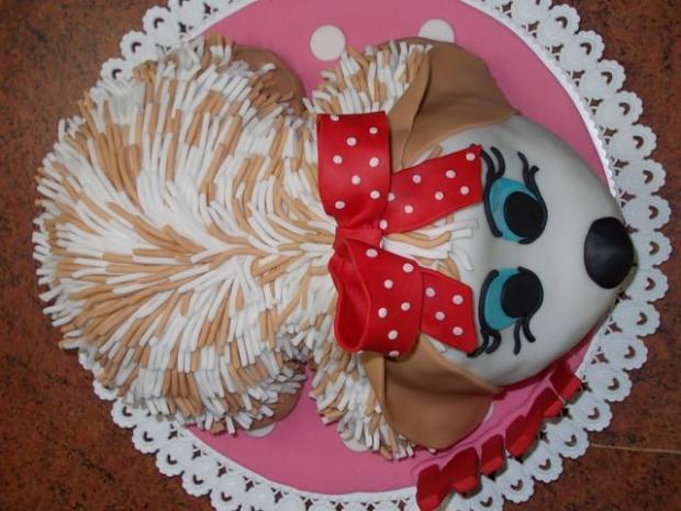 Torta psík - foto postup