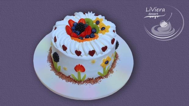 Ovocná torta pre Dianku ❤️  1