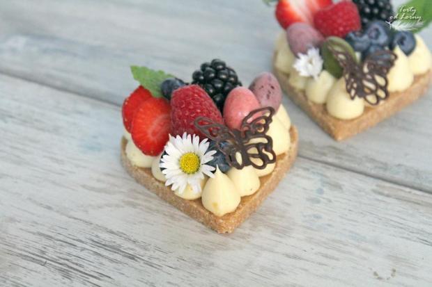 Nepečené mini cheesecakes - recept postup 1
