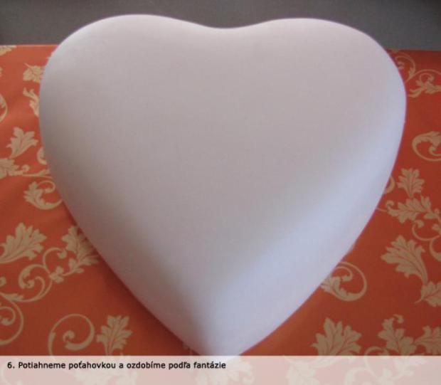 Fotopostup - Torta otvorené srdce 6