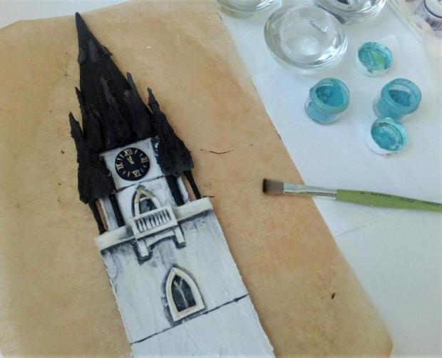 SNV - kostolná veža, postup 3