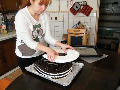 Penová torta 8