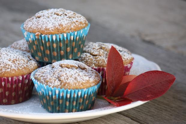 Banánovo čučoriedkové muffiny