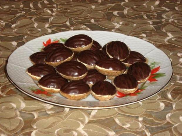 Čokoládové orechy - recept. - recept