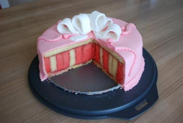 Punčové točená torta
