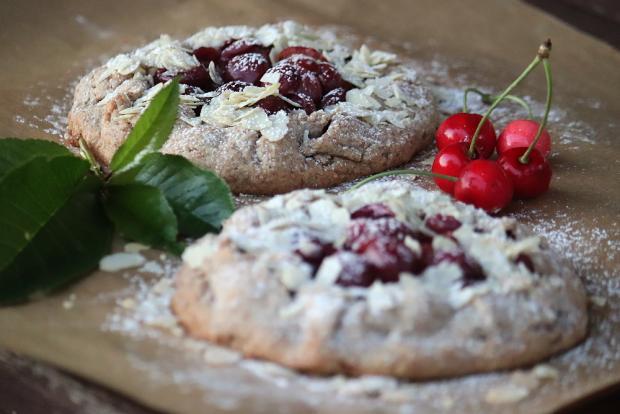 Mandľovo - čerešňové galetky - recept
