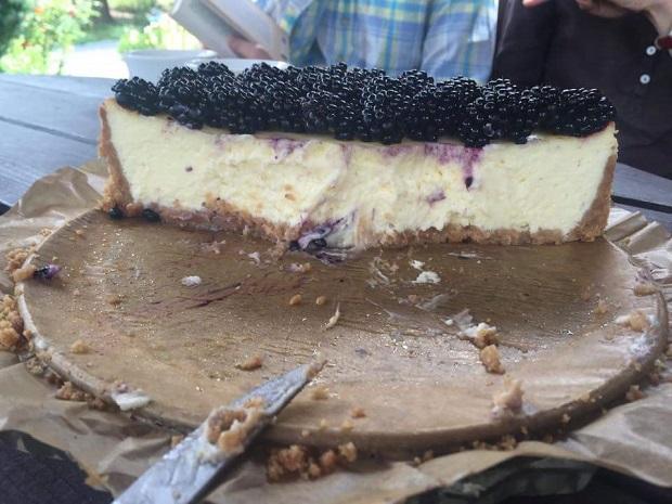 Cheesecake s ovocím - recept