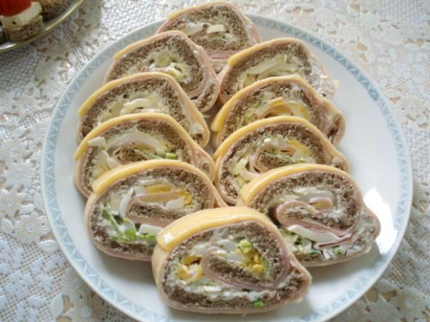 Chlebová roláda - recept