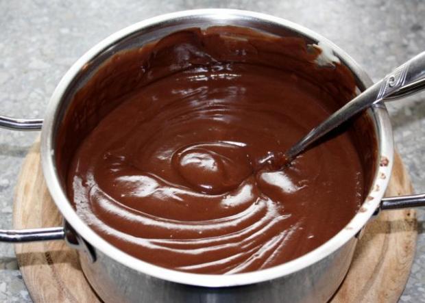 Čokoládovo kokosová torta - recept postup 11