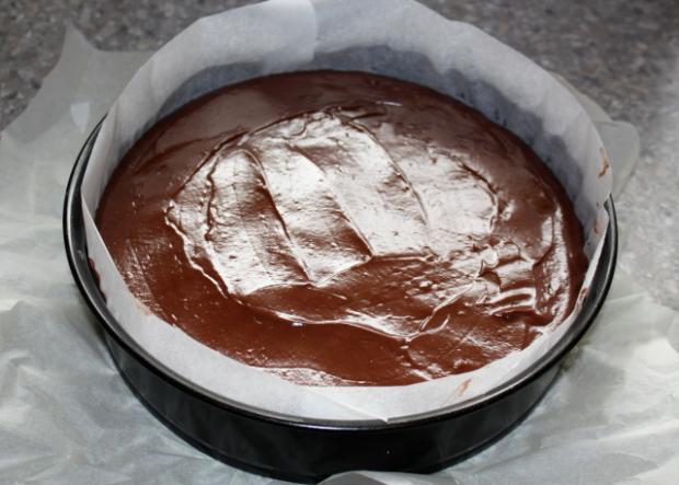 Čokoládovo kokosová torta - recept postup 12