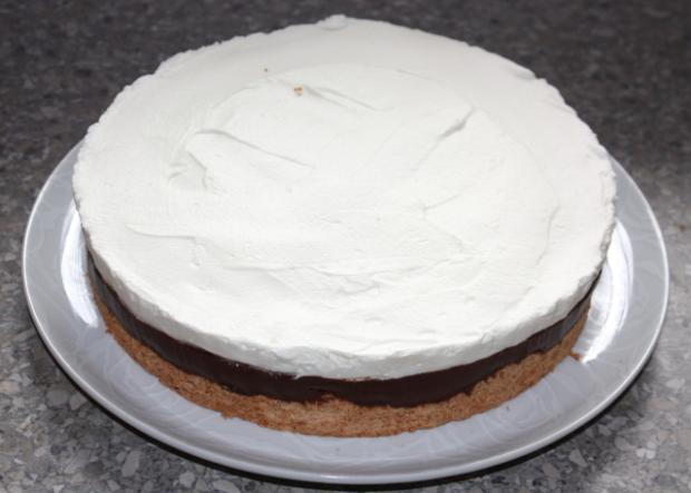 Čokoládovo kokosová torta - recept postup 15