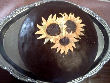 Čokoládovo-snečnicový kopček :o) (súťaž) - recept