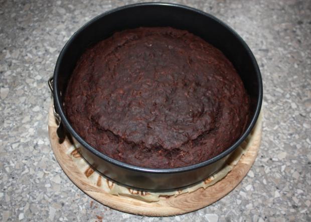 Čokoládová torta s banánmi - recept postup 7