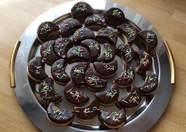 Čokoládové mesiačiky - recept